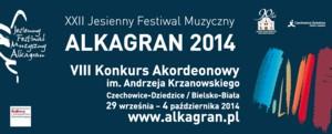 """Jesienny Festiwal Muzyczny """"Alkagran"""" 2014"""