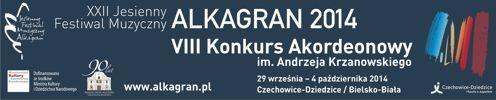 Alkagran - Jesienny Festiwal Muzyczny i Konkurs Akordeonowy im. Andrzeja Krzanowskiego