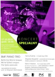 Koncert specjalny BMF Piano Trio