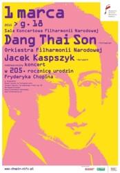 Nadzwyczajny koncert Dang Thai Sona na urodziny Fryderyka Chopina