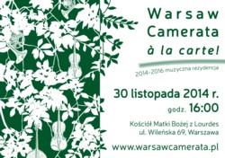 """Barokowa """"Warsaw Camerata à la carte!"""""""